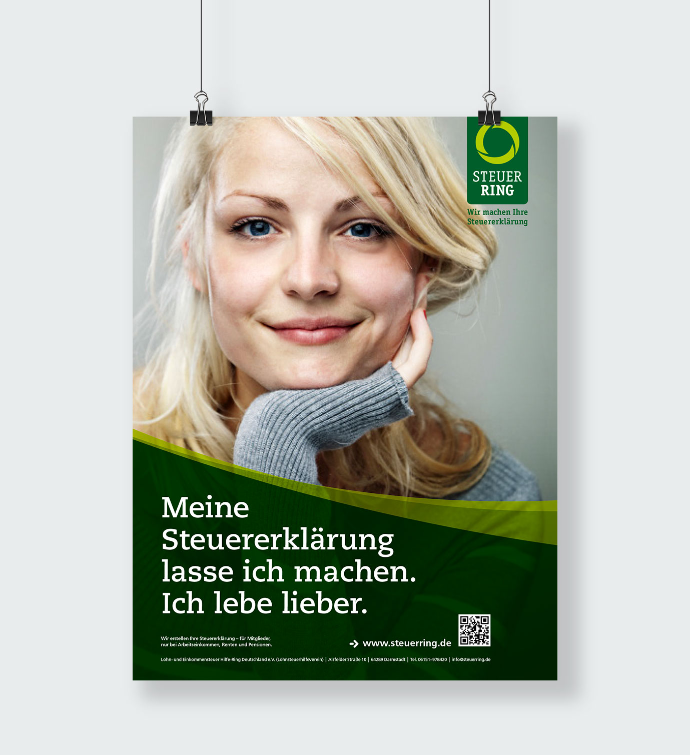 Steuerring Poster