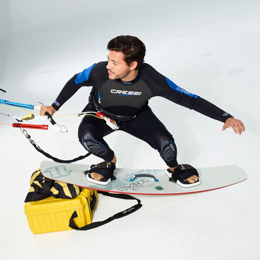 KIA Kampagne Shooting Action Surfer
