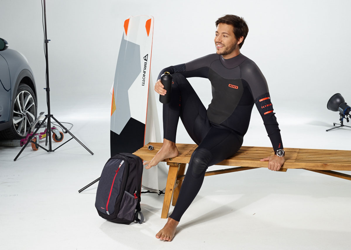 KIA Kampagne Shooting Surfer