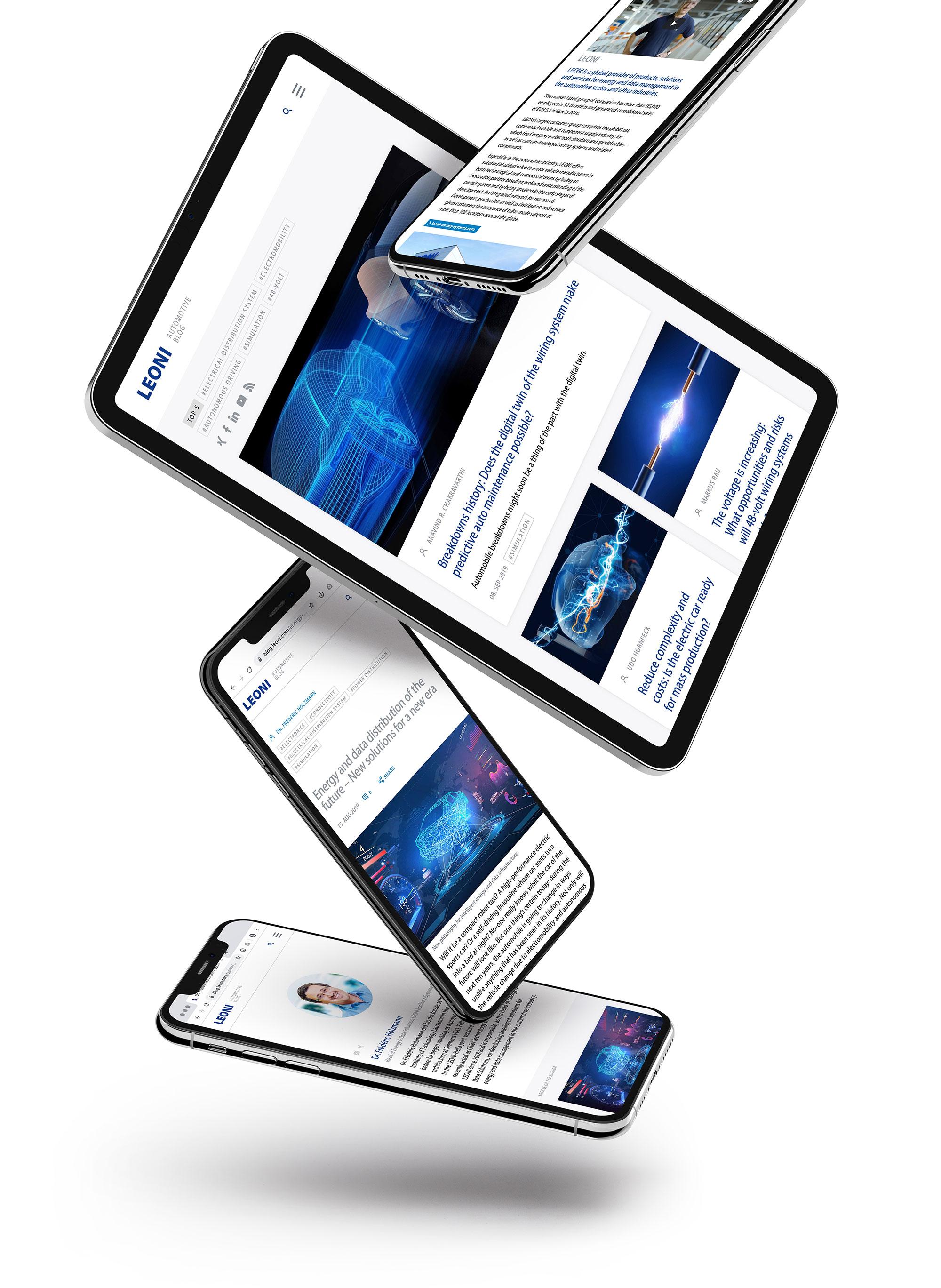 LEONI Automotive Blog responsive Devices